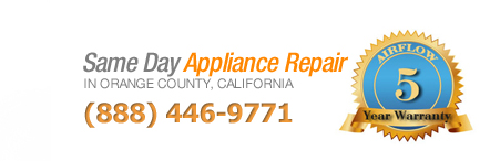 call today for same day appliance repair