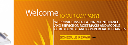 appliance installation, maintenance and repair
